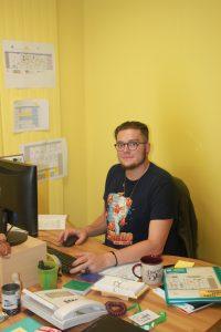 Quentin Brenier, animateur en stage BPJEPS pour un an.