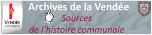 Bouton accès portail communal archives départementales