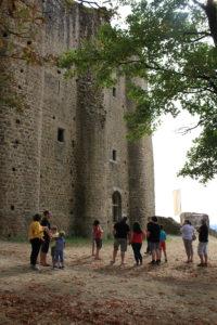 Visite du château de Pouzauges