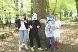 Les jeunes de l'Espace Jeunes prêts à accueillir les enfants